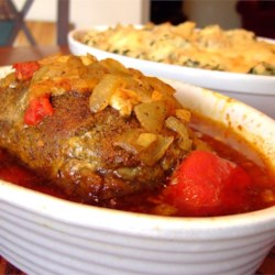 Moroccan Fig Pork Roast Recipe