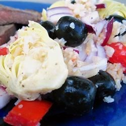Tracy's Tomato Artichoke Rice Salad Recipe