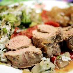 Italian-Style Pork Tenderloin