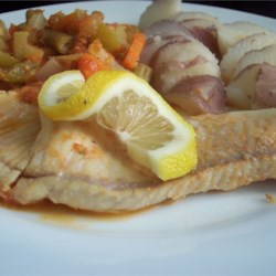 Fish In A Vegetable Patch Recipe