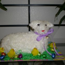 Easter Lamb Pound Cake Recipe