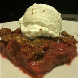 Photo of Rhubarb Raspberry Crisp by ELLeDoux