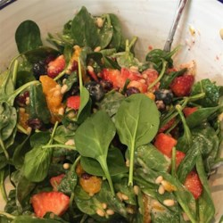 The Perfect Sunday Brunch Spinach Salad