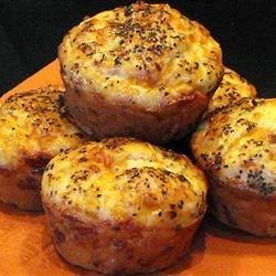 Peppery Cheddar Muffins