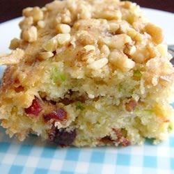Zucchini-Coconut Cookie Bars Recipe