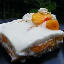 Fresh Peach Dessert Recipe