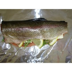 grilled montana trout photos