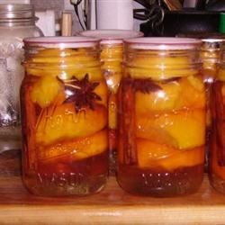 Nana's Southern Pickled Peaches Recipe