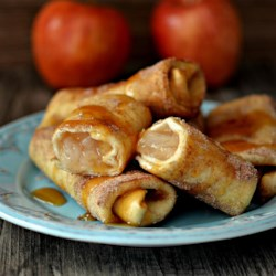 Apple Cinnamon Chimichangas