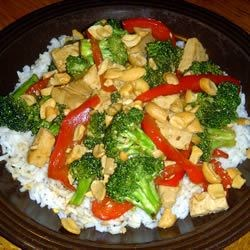Broccoli and Tofu Stir Fry Recipe