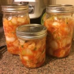 Spicy Cabbage Kimchi