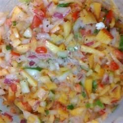 Photo of Colorful Summer Peach Salsa by Bito