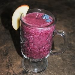 Photo of Delicious Blueberry Smoothie by Abby
