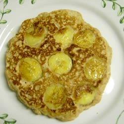 Hearty Banana Oat Flapjacks Recipe