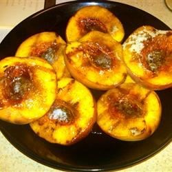 Sweet Grilled Peaches Recipe