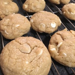White Chocolate Coconut Macadamia Cookies