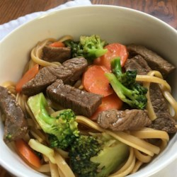 Shortcut Beef Noodle Bowl