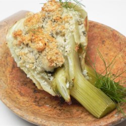 Baked Fennel with Gorgonzola