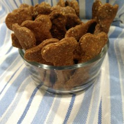 Peanut butter and pumpkin dog treats recipe allrecipes peanut butter and banana dog biscuits forumfinder Gallery