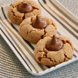 Worlds Easiest Peanut Butter Blossoms Recipe