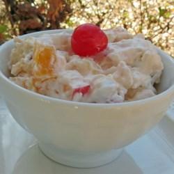 Cream Cheese Fruit Salad