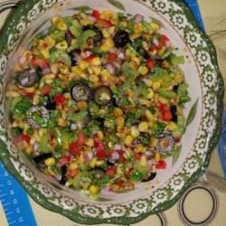 Chef Scott's Smoked Corn Relish Salad