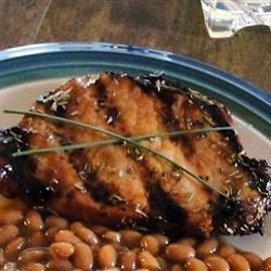 Grilled Rosemary Pork Chops Recipe
