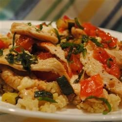 Chicken with Quinoa and Veggies Recipe