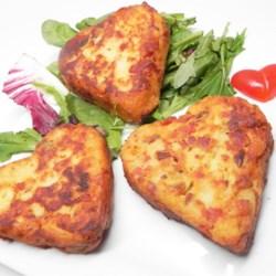Bacon SPAM(R) and Potato Pancakes