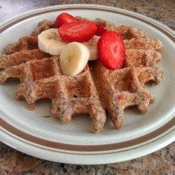 healthy multigrain chia waffles printer friendly