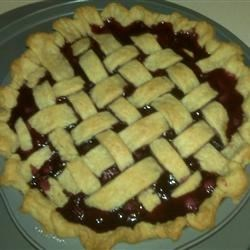 Fresh Blueberry Pie II