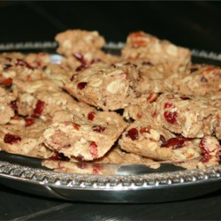 Cranberry Oatmeal Bars Recipe
