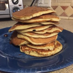 Kefir Chocolate Chip Pancakes