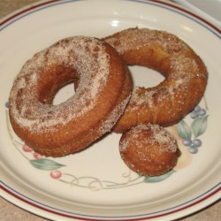 Herman Applesauce Doughnuts Recipe