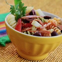 simple pasta salad dressing printer friendly