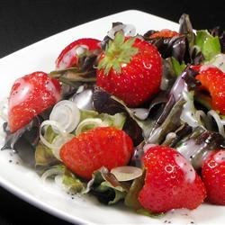 Strawberry Onion Salad Recipe
