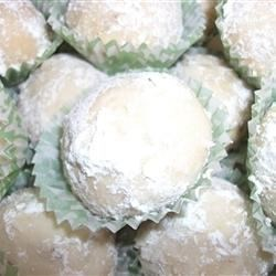 Cream Cheese Snowball Cookies Recipe