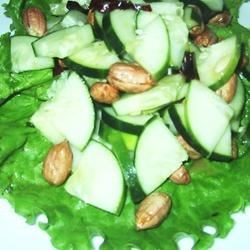 Cucumber Peanut Salad Recipe