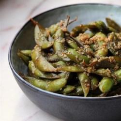 Szechuan Edamame (Soy Beans)