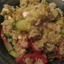 Greek Rice Salad Recipe
