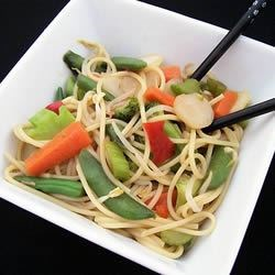 Vegetable Lo Mein Delight Recipe