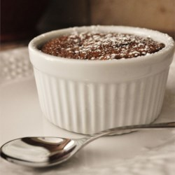 Chocolate Liqueur Souffles Recipe