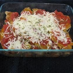 Quick Eggplant Parmesan Recipe
