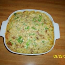 Pork, Broccoli and Rice Casserole