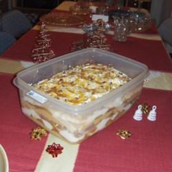 Caramel Apple Box Trifle