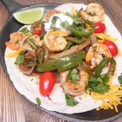 Chili-Lime Shrimp Fajitas