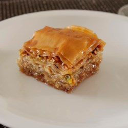 Greek recipes allrecipes greek baklava recipe and video baklava uses phyllo dough stacked with honey and nuts to forumfinder Gallery