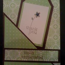 A sample card
