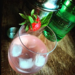 Strawberry-Gin Cocktail