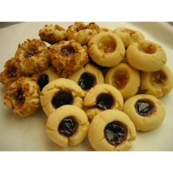 Jam Filled Butter Cookies Recipe